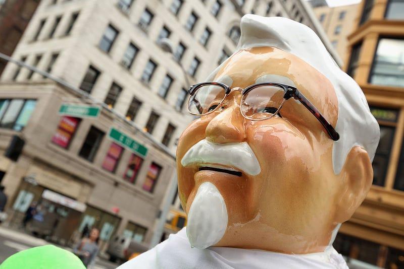 colonel sanders statue kfc
