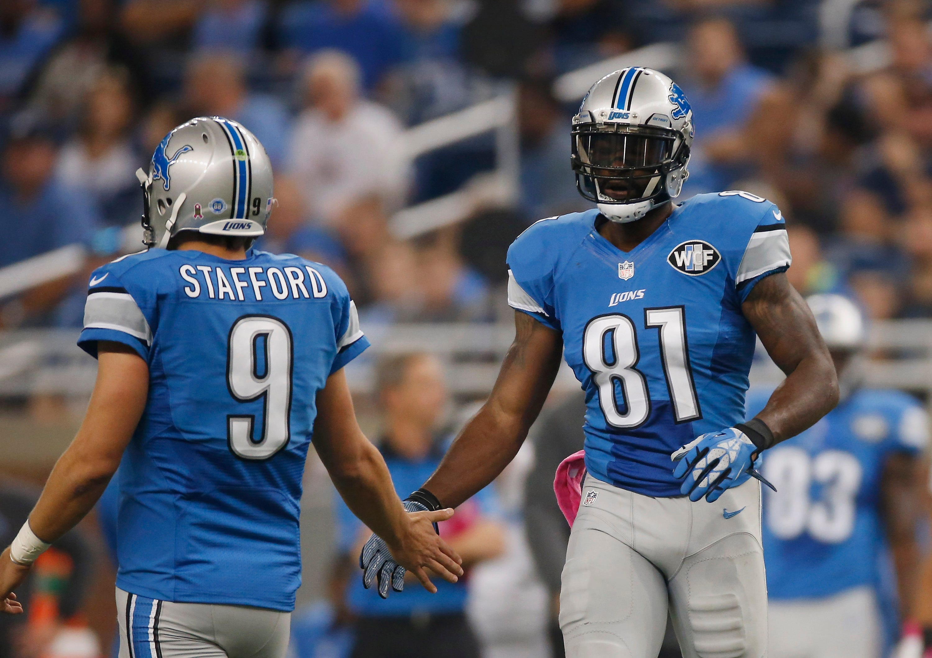 'Go back to Texas:' Megatron hopes Stafford finds new NFL home