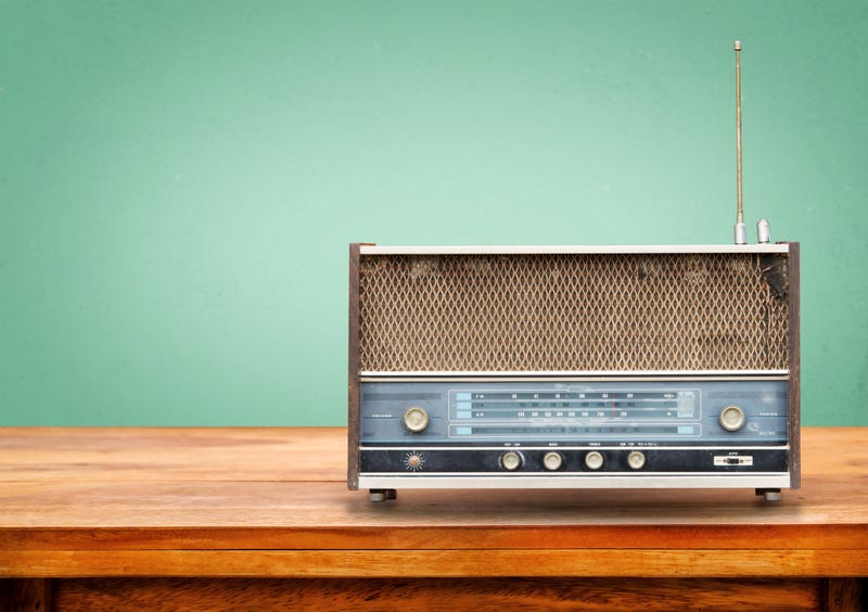 colorful radio for world radio day