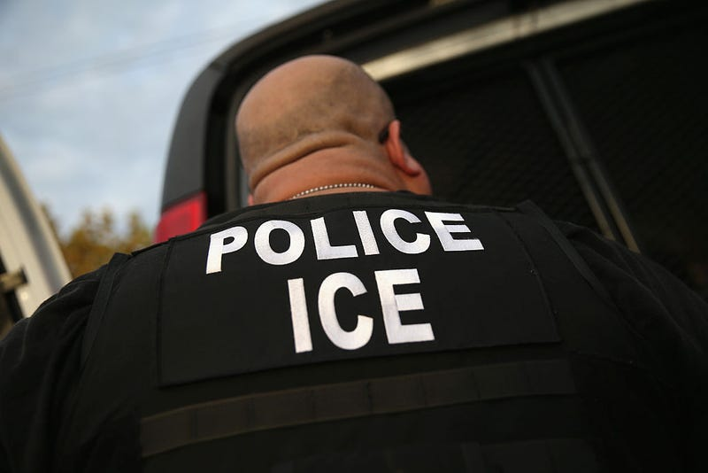 U.S. Immigration and Customs Enforcement (ICE) agent