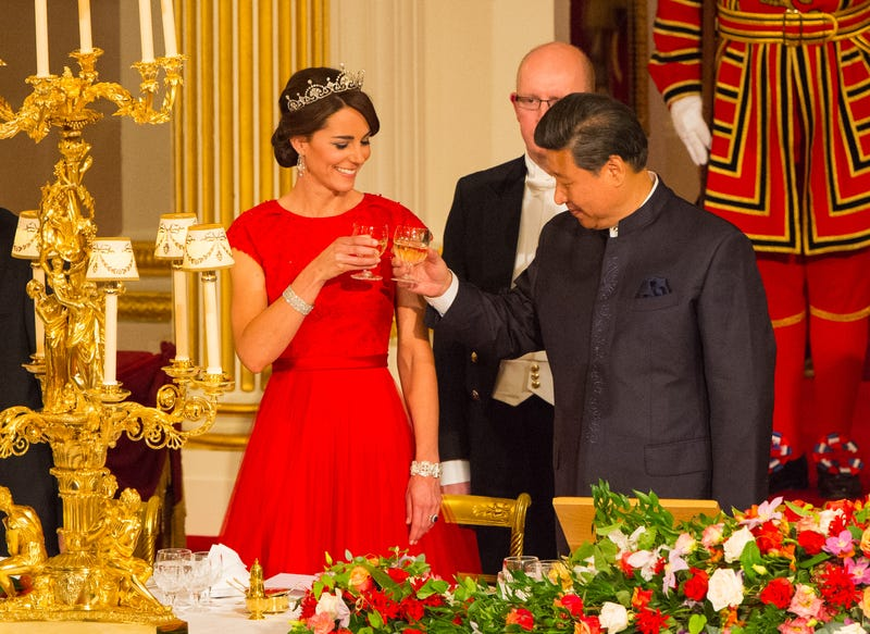 kate middleton and xi jingping