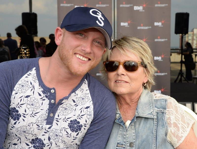 Cole Swindell and Mom, Betty Carol Rainey