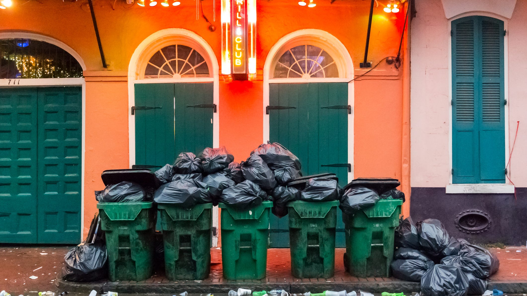 Hang in there! Trash collection is ramping up says parish leaders