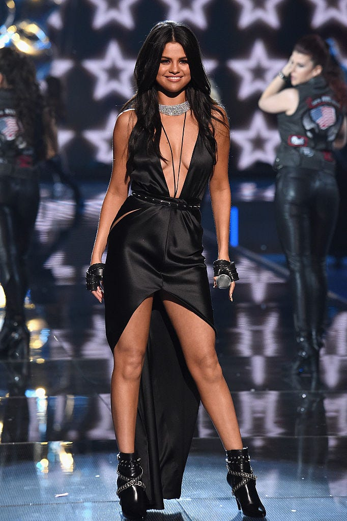 Performing at the Victoria's Secret Fashion Show, 2015