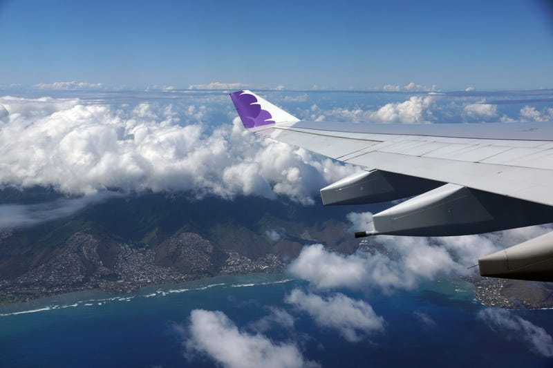 Two Hawaiian Airlines flights returned to Honolulu airport due to unruly passengers.