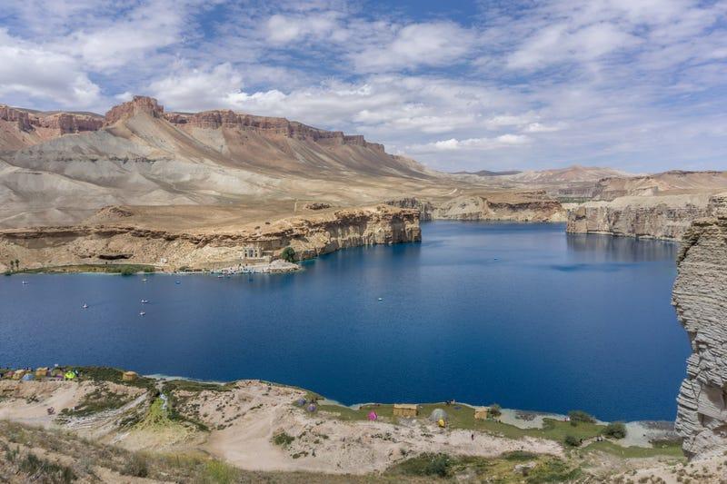 Band-e Amir National Park.