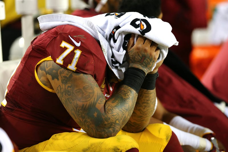 Trent Williams had good reason for wanting out of Washington