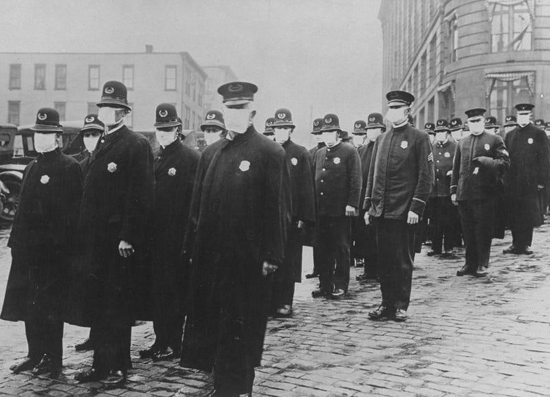 1918 Spanish influenza pandemic