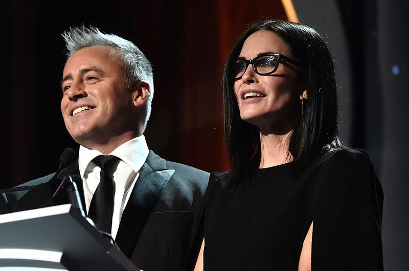 matt leblanc and courteney cox in 2016