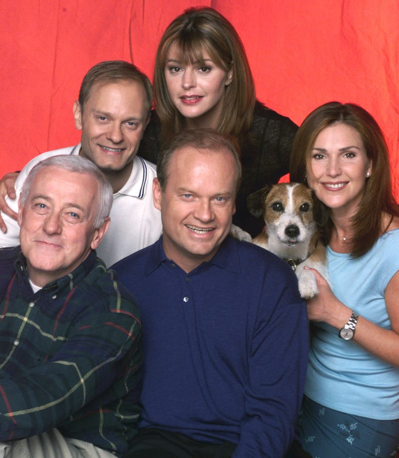 "The cast of ""Frasier"""