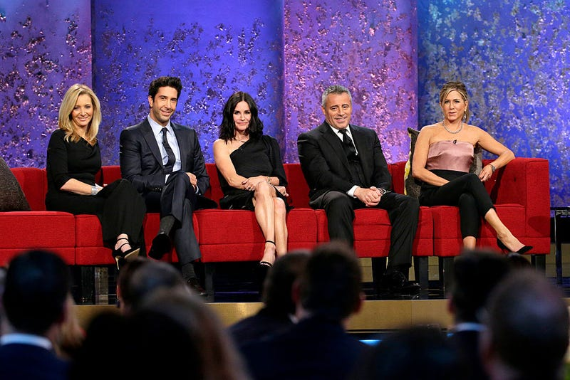 lisa kudrow, david schwimmer, courteney cox, matt leblanc, jennifer aniston