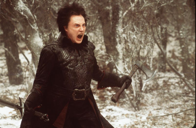 christopher walken in sleepy hollow