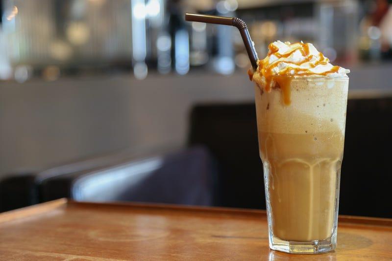 Caramel Cappuccino hits coffee