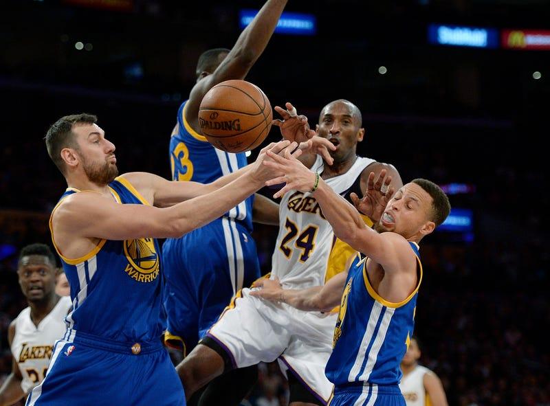 Kobe Bryant against the Golden State Warriors