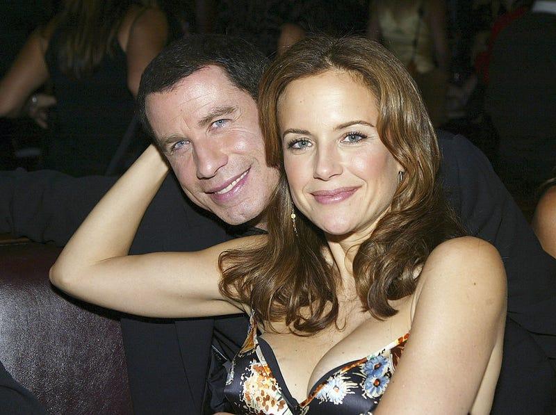 Travolta and Preston in 2004