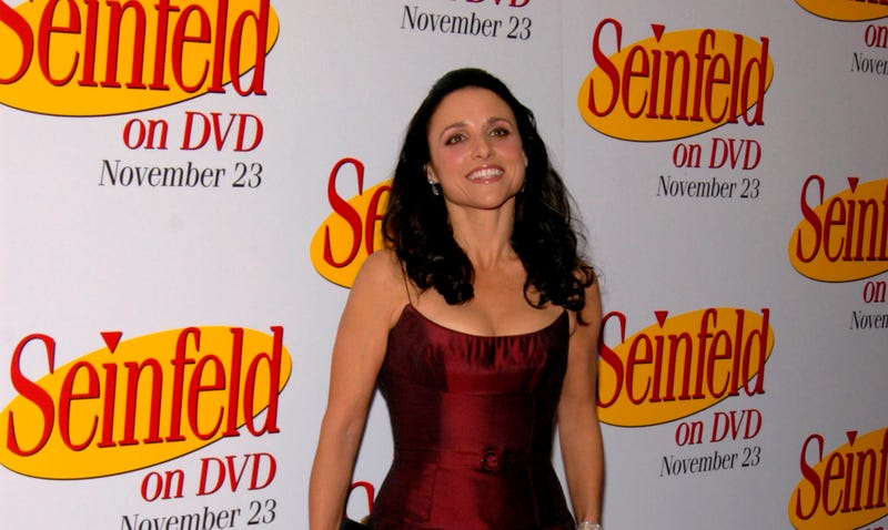 julia louis dreyfus at seinfeld party