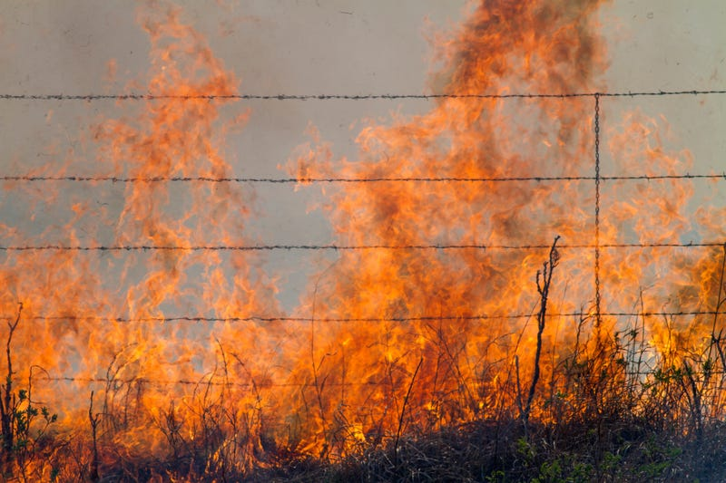 Red Flag Warning for fire hazard begins Monday in Kansas