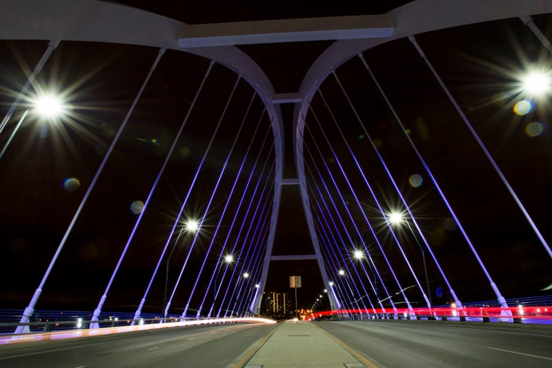 The Lowry Avenue Bridge in north Minneapolis
