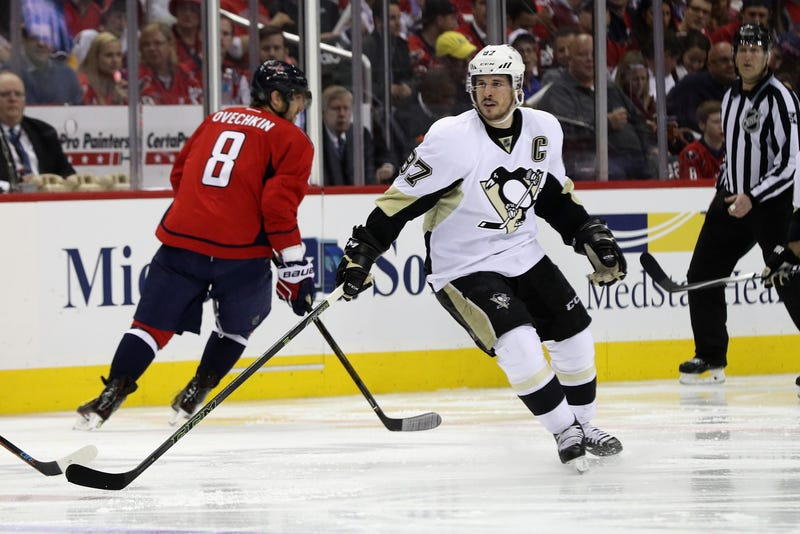 Alexander Ovechkin and Sidney Crosby