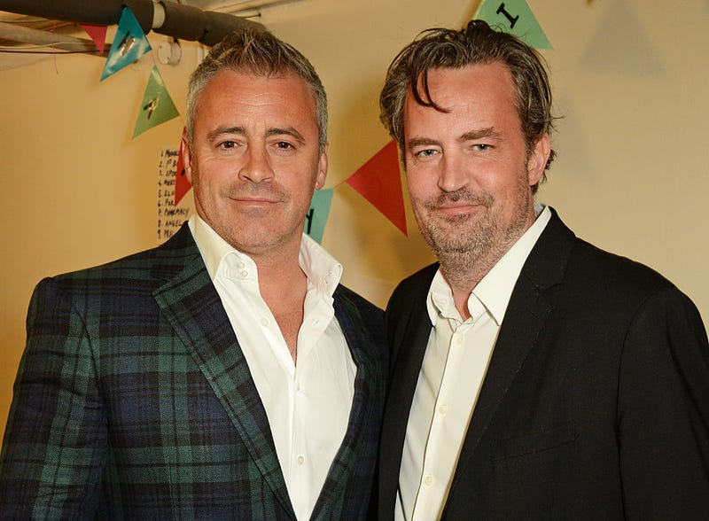 matt leblanc and matthew perry in 2016