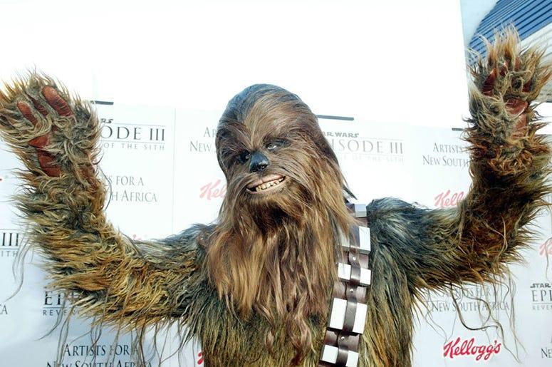 'Star Wars' character Chewbacca