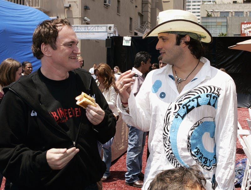 Quentin Tarantino and Robert Rodriguez
