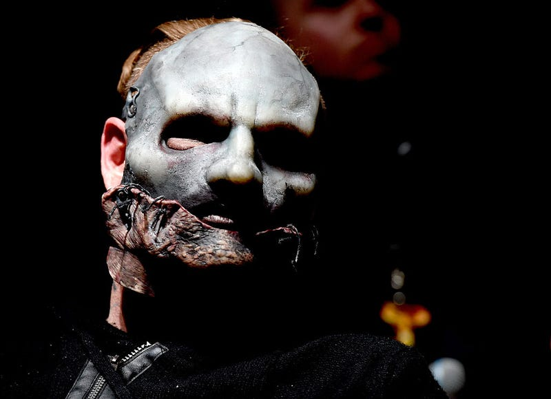 Singer Corey Taylor of Slipknot attends the Ozzy Osbourne and Corey Taylor special announcement at the Hollywood Palladium on May 12, 2016 in Hollywood, California