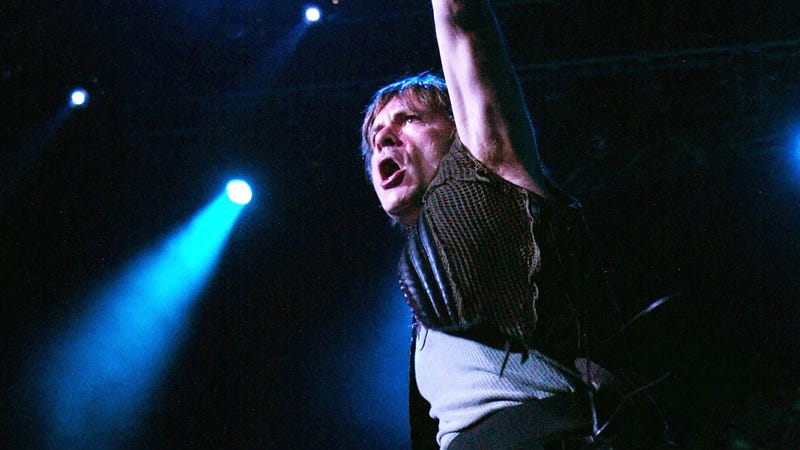 Bruce Dickinson of Iron Maiden
