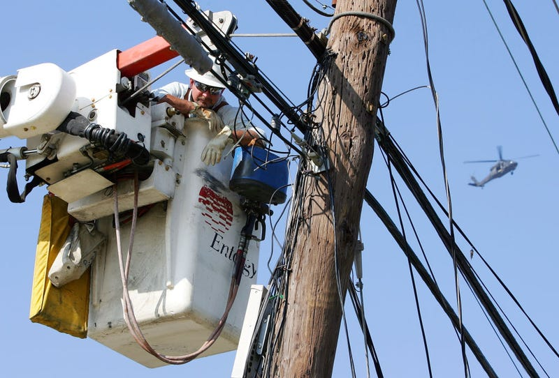 Entergy workers