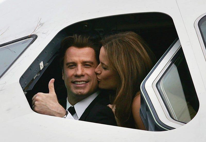 Travolta and Preston in 2006