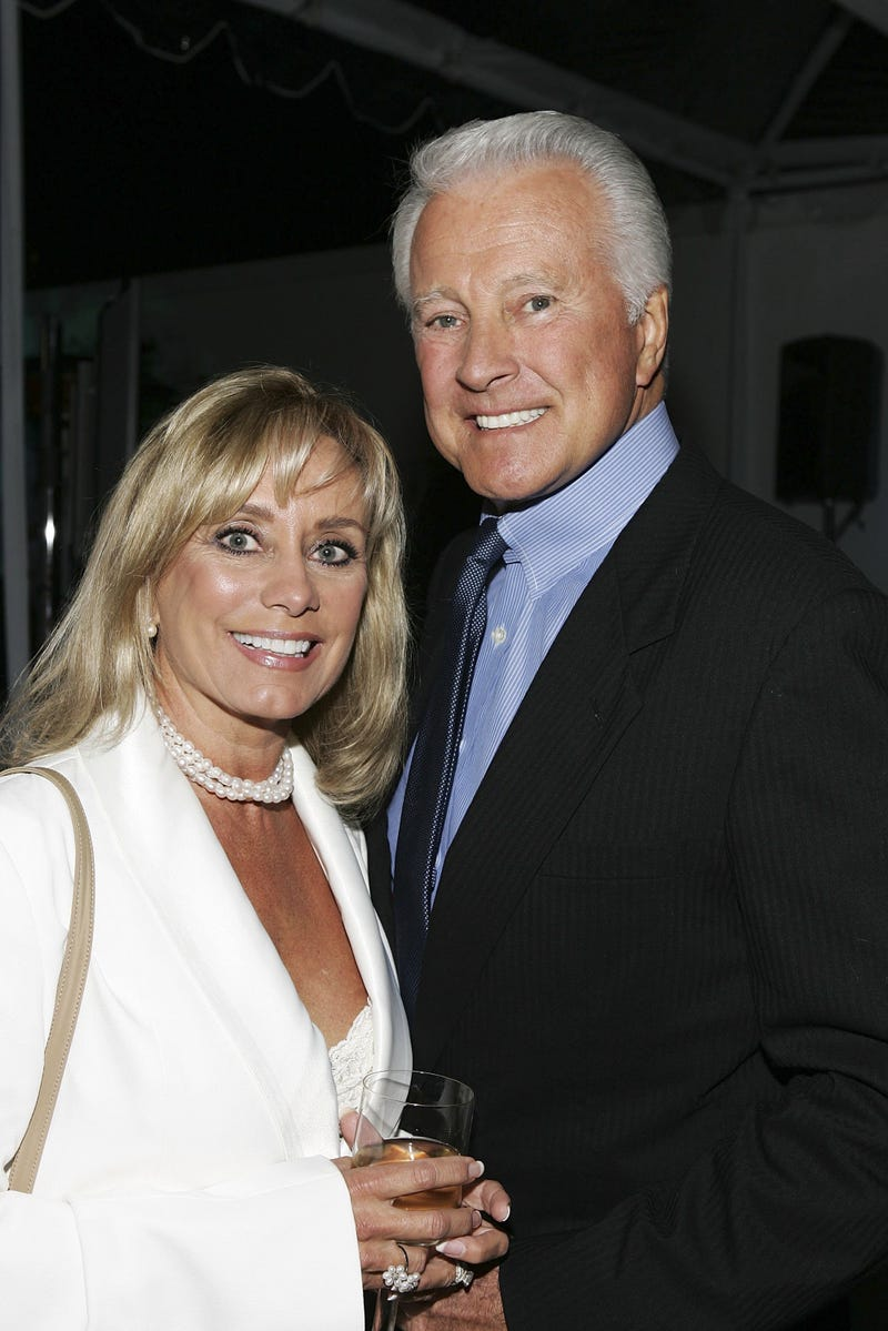 Lyle Waggoner and wife Sharon Waggoner in 2006