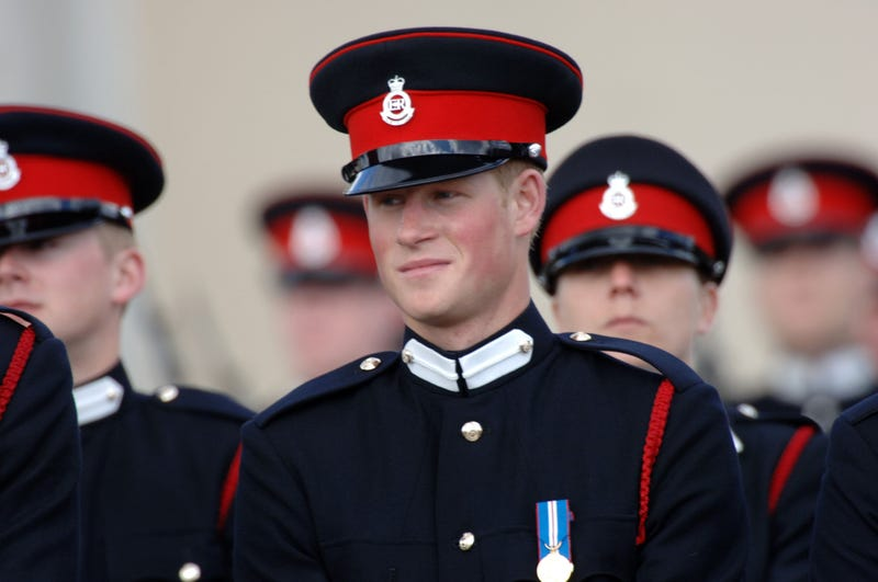 prince harry commissioned as cornet aka second lieutenant at royal military academy sandhurst