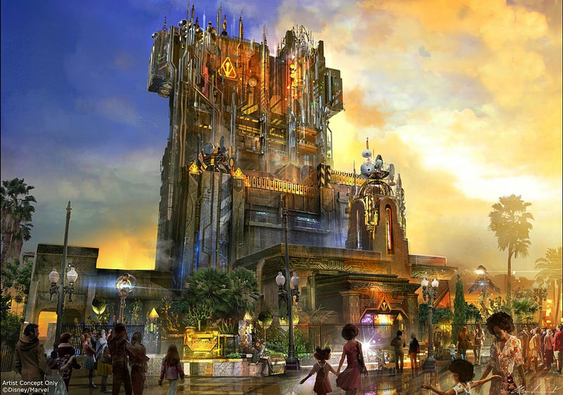 Provided by Disneyland Resort -- Guardians of the Galaxy - Mission: BREAKOUT!