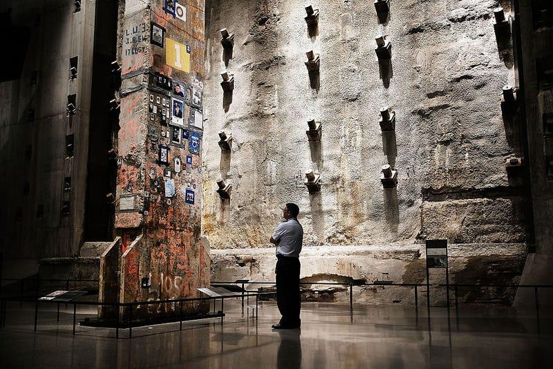 Pilar del desaparecido WTC en NY