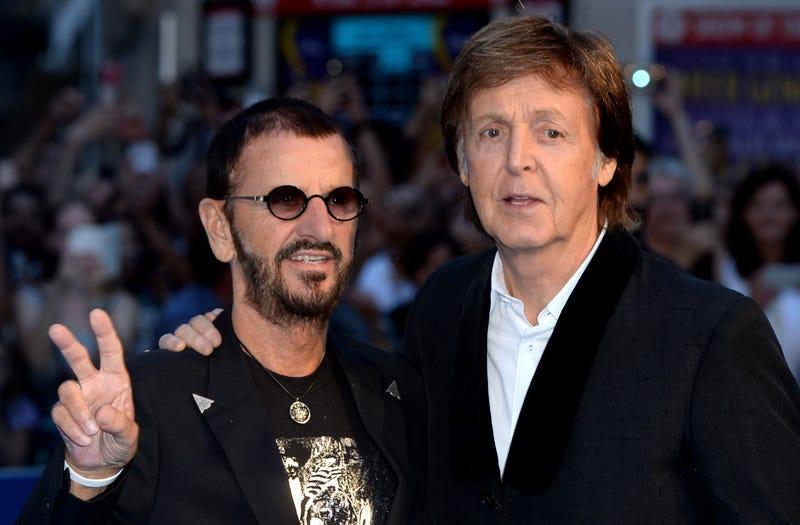 The Beatles' Ringo Starr & Paul McCartney