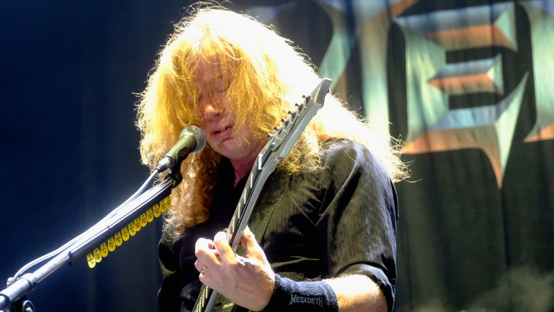 Dave Mustaine of Megadeath