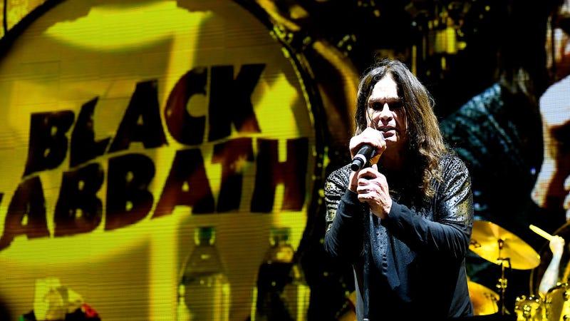 Ozzy Osbourne of Black Sabbath