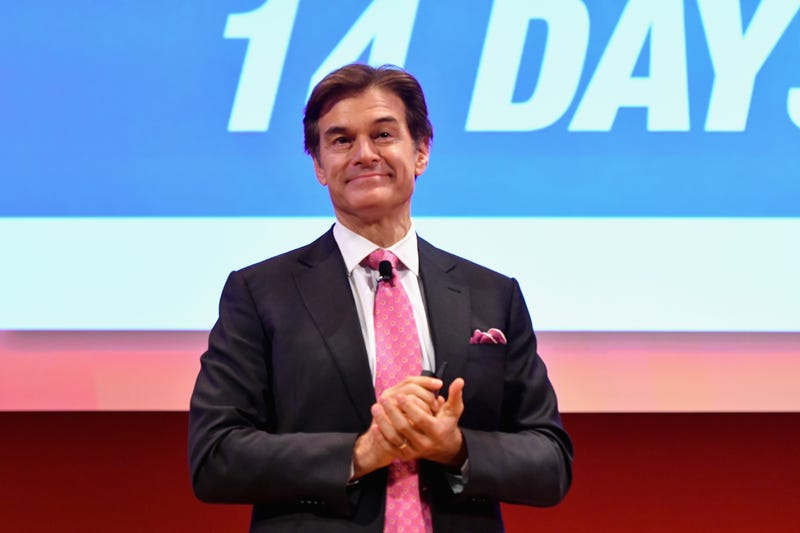 """Dr. Mehmet Oz, host of The Dr. Oz Show came on The Rashad Richey Morning Show to discuss the emergence of """"Covid-19 scams"""" and the airing of episode 2,000."""
