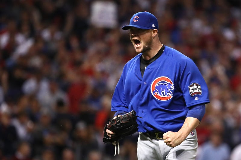 Jon Lester helped the Cubs to snap a 108-year World Series drought in 2016.