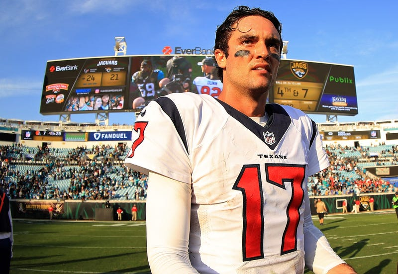 Brock Osweiler's tenure in Houston didn't go well.