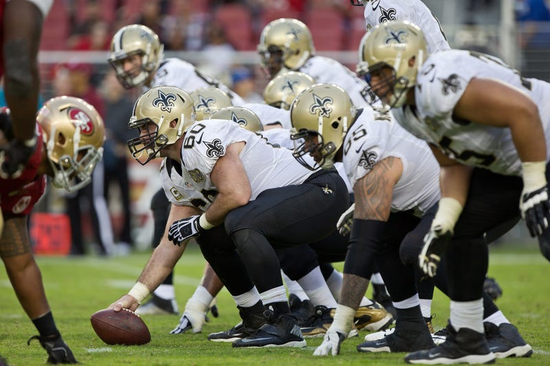New Orleans Saints Offensive Line