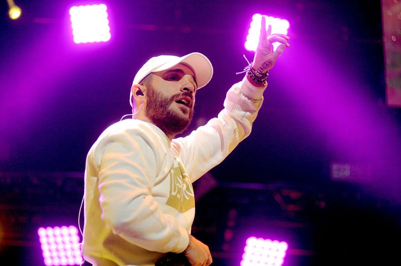 Recording artist Jon Bellion performs onstage during 101.3 KDWB's Jingle Ball 2016 presented by Capital One at Xcel Energy Center on December 5, 2016 in St Paul, Minnesota. (Photo by Timothy Hiatt