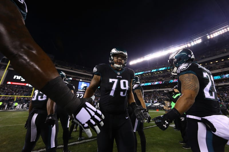 Brandon Brooks has become a dominant player for the Eagles.