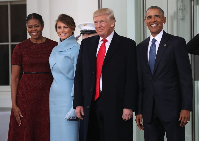 The Trumps, The Obamas
