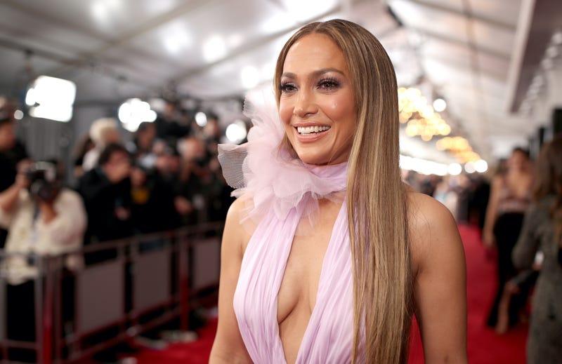 Actress/Singer Jennifer Lopez attends The 59th GRAMMY Awards