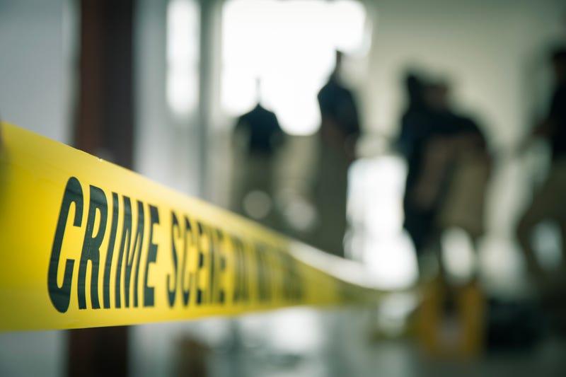 Crime scene.