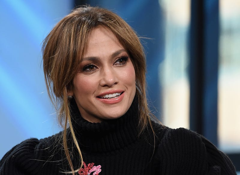 """Jennifer Lopez visits the Build Series Presents Jennifer Lopez And Ray Liotta Discussing """"Shades Of Blue"""""""