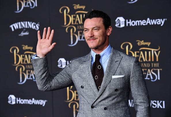 Luke Evans Beauty and the Beast