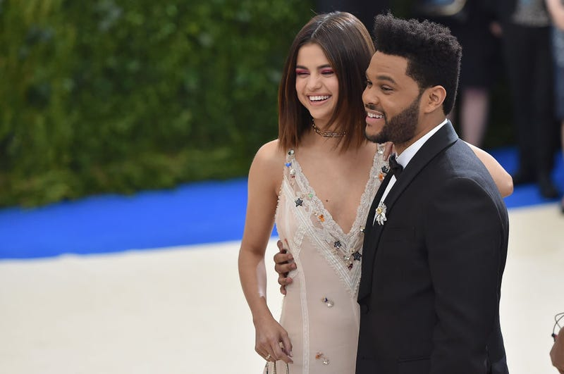 Costume Institute Gala at Metropolitan Museum of Art with The Weeknd, 2017
