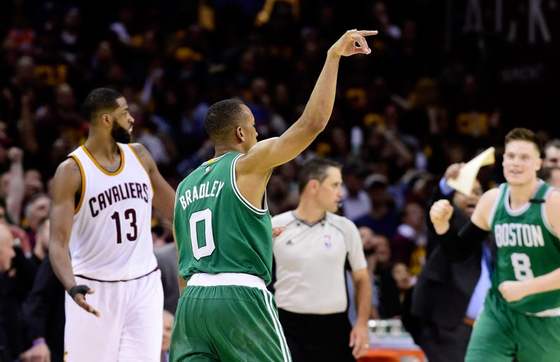 Avery Bradley against the Cleveland Cavaliers